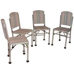 Warren McArthur 4 Early Folding Chairs California, 1932-1933