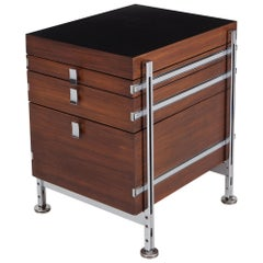 Jules Wabbes Mahogany Chest of Drawers for Mobilier Universel