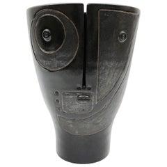 Dalo, Black Ceramic Vase