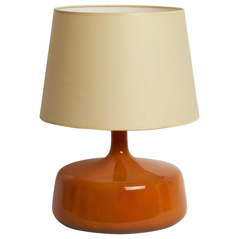 Ceramic Table Lamp by Jacques et Dani Ruelland, 1960s For Sale