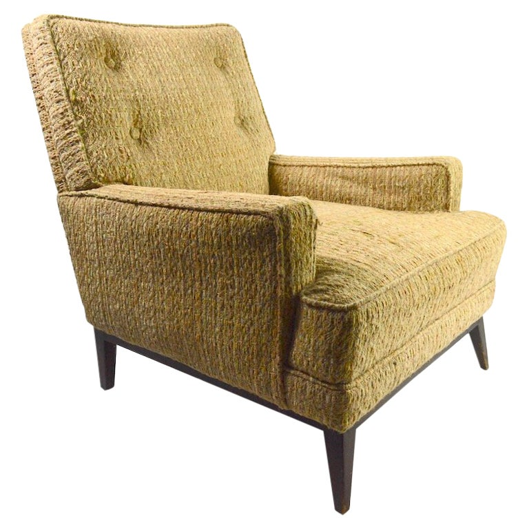 Mid Century  Club Lounge Chair after McCobb as is