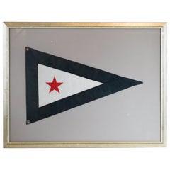 Framed Yacht Club Burgee
