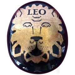 "Piero Fornasetti ""Leo"" Pebble Paperweight, circa 1960"