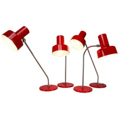 Mid-Century Modern Table Lamps from Germany, 1970s