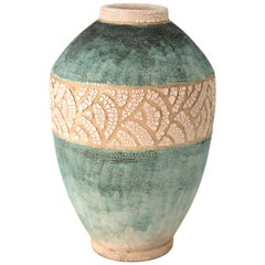 Andre Petitriy French Art Deco Ceramic Vase