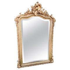 Gilt Mirror, French, circa 1900