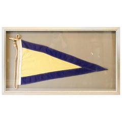 Yacht Race Flag in Frame