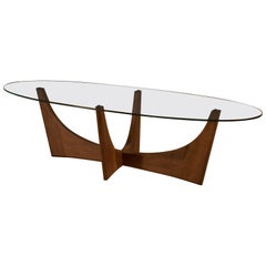 Mid Century Adrian Pearsall Walnut Coffee Table