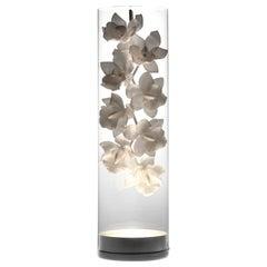 Jeremy Cole Cymbidium Orchid Vessel Light