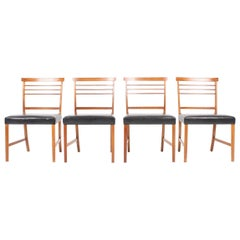 Set of Four Classic Side chairs by Ole Wanscher