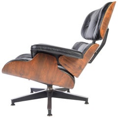 Charles Eames Rosewood 670 Lounge Chair for Herman Miller, 1970s