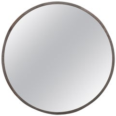 Vintage Round Mirrors with Metal Frames Are a Unique