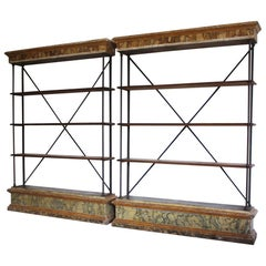 Pair of 18th Century and Later Bookcases or Display Cabinets