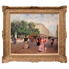 """A Stroll Down the Boulevard Paris"" by Juan Soler"
