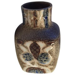 Midcentury Pottery Vase by Nils Thorsson for Royal Copenhagen, 1970s
