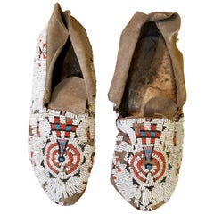 Beaded Sioux Moccasins