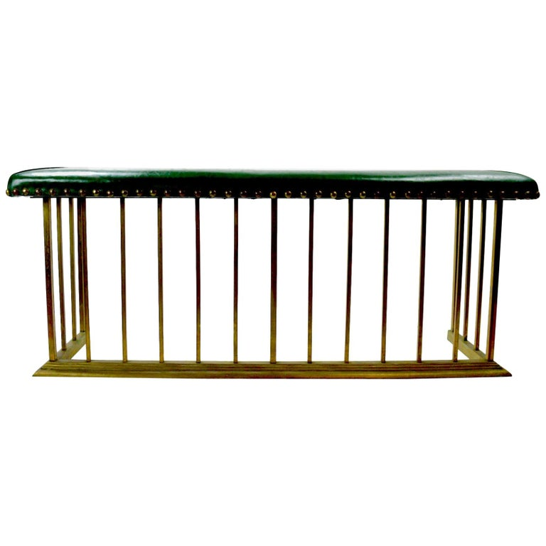 Club Bench Fireplace  Fender  For Sale
