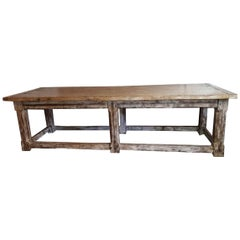 English Oak Refectory Table