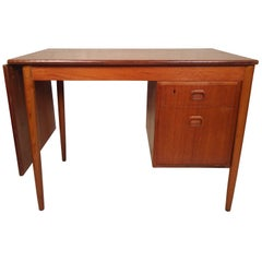 Mid-Century Modern Danish Slide Top Desk