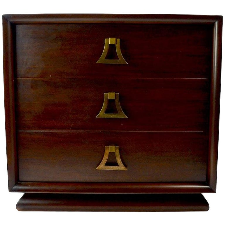 Mahogany Dresser by Harjer For Sale