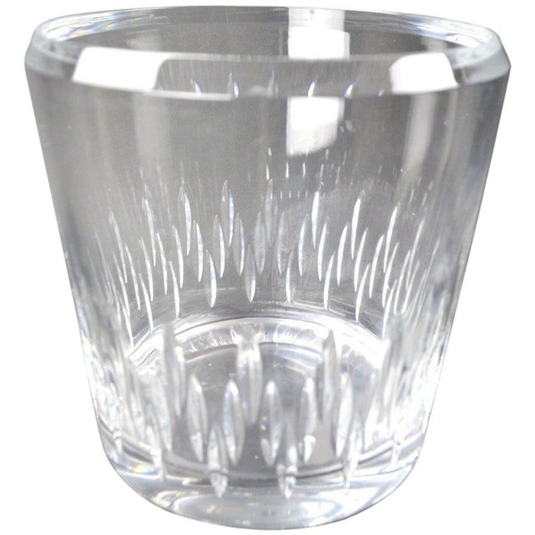 Crystal Champagne Ice  Bucket For Sale