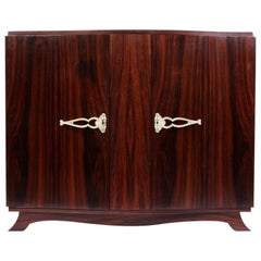 French Art Deco Sideboard in Rosewood, circa 1930