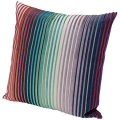 MissoniHome Tunisi Cushion with Multi-Color Stripe Print