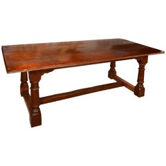 Mahogany Dining Table. 20th Century