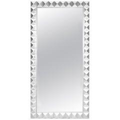 Casablanca Mirror in Silver Leaf by Badgley Mischka Home