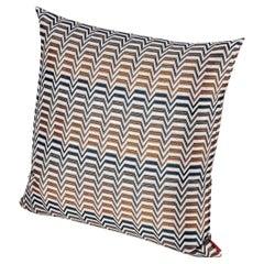 Missoni Home Seattle Cushion in Multi-Color Chevron Pattern