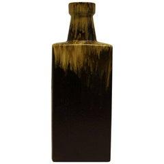 Bottleshaped Fat Lava Ceramic Vase by Scheurich- W. Germany 1970s