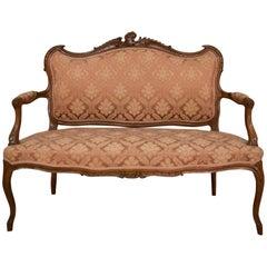 Rococo Walnut Sofa, circa 1920