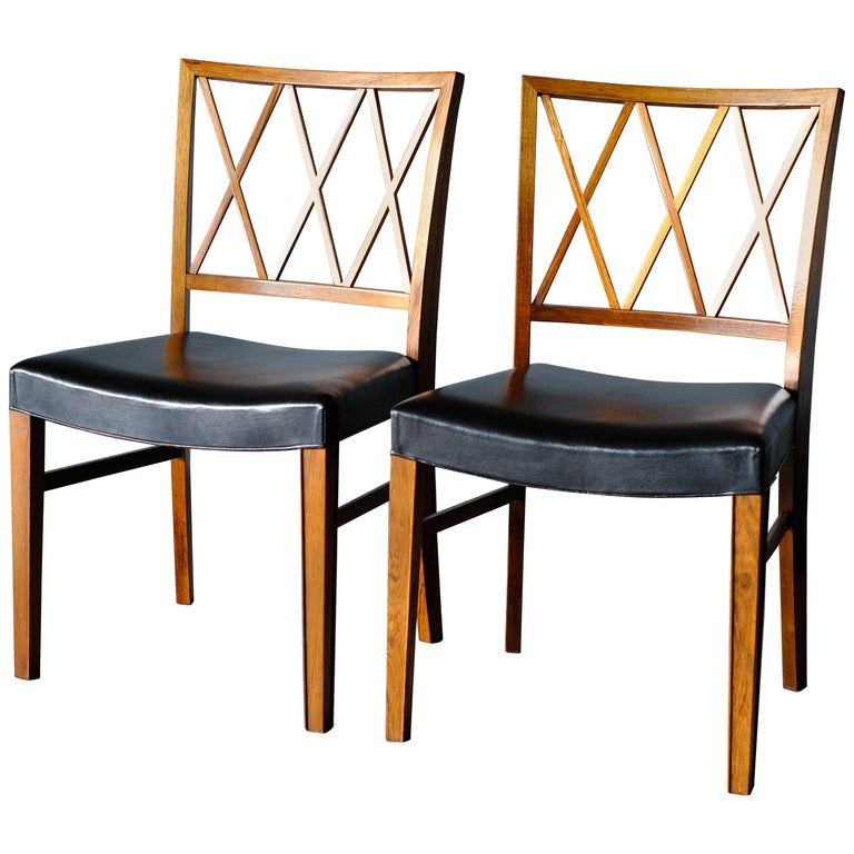 Ole Wanscher, Pair of Chairs