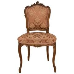 Rococo Walnut Chair, circa 1920