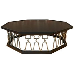 Casa Del Sol Coffee Table by John Van Koert for Drexel Ebonized