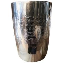 German Silver Presentation Cup