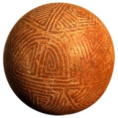 "America Ancient Stone Game Ball ""Batey"", 500 Years Old"