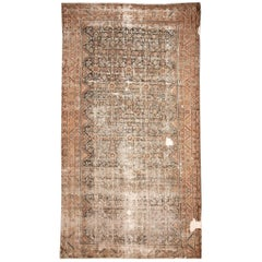 Distressed Malayer Gallery Rug