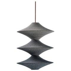SS05 Ø50 Pendant Light, Hand Crocheted in 100% Mercerized Egyptian Cotton