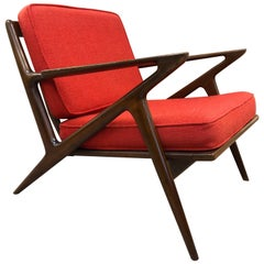 Poul Jensen Z Lounge Chair for Selig