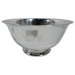 Traditional American Sterling Silver Revere Bowl by Gorham