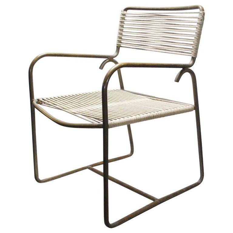 One Walter Lamb for Brown Jordan Outdoor Indoor Dining Chair