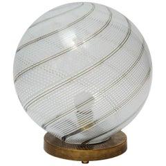 Big Globe Table Lamp by Venini