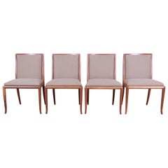 Robsjohn-Gibbings for Widdicomb Saber Leg Dining Chairs, Set of Four