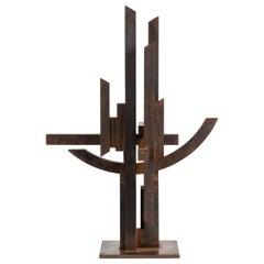 """Marino Di Teana, """"Hommage Aux Sciences 'Nancy'"""" Sculpture, France, 1978"""