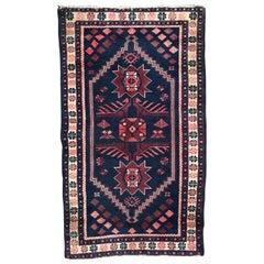 Turkish Yagcibedir Vintage Rug