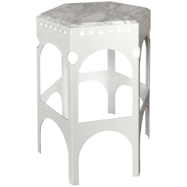 """Rio Carioca"" Side Table by Yoan Claveau De Lima for Les Choses Edition"