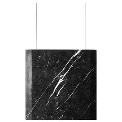 """Werner Sr. Marquinia"" Contemporary Ceiling Marble Lamp, in Stock"