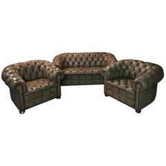 Original English Chesterfield Top Quality Set