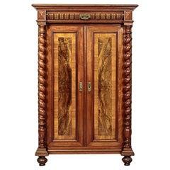 19th Century Eclectic Mahogany Vertiko